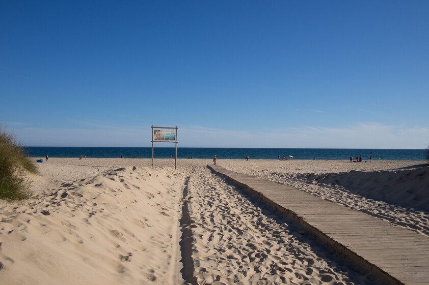 Entrada do praia de Santo Antonio