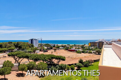 THE5 - Apartamentos com vista mar em Quarteira